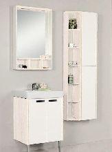 Комплект мебели Акватон Йорк 60 белый/выбеленное дерево