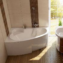 Гидромассажная ванна Ravak Asymmetric 150x100