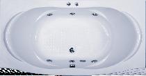 Гидромассажная ванна BAS Фиеста 194 x 100 x 50