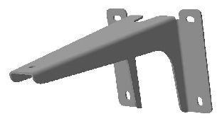 Комплект кронштейнов для крепления ног BELBAGNO