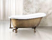 Акриловая ванна BelBagno BB04-BRN/BIA
