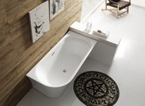 Акриловая ванна BelBagno BB410-1500-780-L