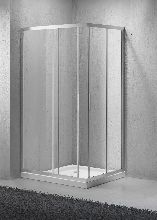 Душевой уголок Belbagno SELA-AH-2-100/80-C-Cr 100x80x190 стекло прозрачное