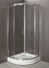 Душевой уголок Belbagno UNO-GL-R-2-80-C-Cr-TR 80x80x200 стекло прозрачное