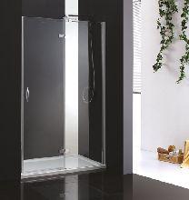 Душевая дверь Cezares BERGAMO-B-12-100-C-Cr-L стекло прозрачное, профиль хром