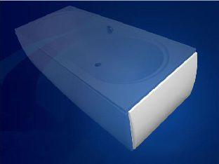 Боковая панель для прямоугольной ванны Vagnerplast 70, 75, 80 см