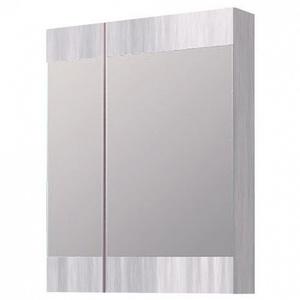 Зеркальный шкаф Aqwella Бриг 60 см дуб седой Br.04.06/Gray