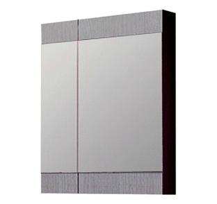Зеркальный шкаф Aqwella Бриг 70 см дуб седой Br.04.06/Gray