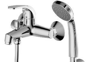 Смеситель для ванны Bravat FIT F6135188CP-B-RUS