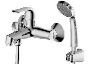 Смеситель для ванны Bravat SIMPLE F6135193CP-B-RUS