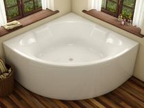 Акриловая ванна Vayer Bryza 140х140