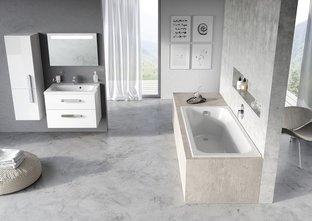 Акриловая ванна Ravak Chrome Slim 170 x 75