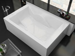 Акриловая ванна Vayer Coral 180x120