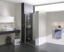 Душевая дверь Cezares CRYSTAL-S-B-12-90-C-Cr-L стекло прозрачное, профиль хром