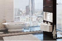 Мраморная ванна Esse Cuba 203х110