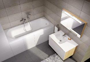 Акриловая ванна Ravak Domino 160 x 70