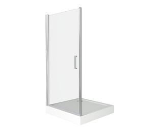 Душевая дверь Good Door Pandora DR-100-C-CH, цвет профиля хром, цвет стекла прозрачное, 100x185
