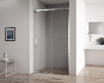 Душевая дверь Cezares DUET SOFT-BF-1-100-C-Cr-L стекло прозрачное, профиль хром