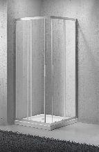 Душевой уголок Belbagno SELA-A-2-80-C-Cr 80x80x190 стекло прозрачное