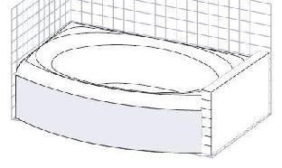 Панель фронтальная Ravak EVOLUTION белая