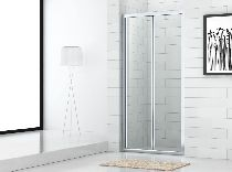 Душевая дверь Cezares ECO-BS-80-C-Cr стекло прозрачное, профиль хром