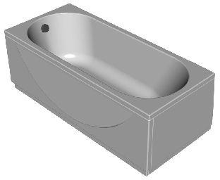 Панель фронтальная для ванны Kolpa-San Tamia