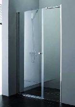 Душевая дверь Cezares ELENA-B-11-100+60-C-Cr стекло прозрачное, профиль хром