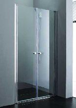 Душевая дверь Cezares ELENA-B-2-160-C-Cr стекло прозрачное, профиль хром