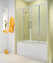 Шторка для ванны ESBANO-1415 150x140 см