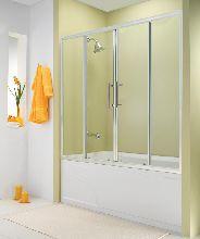 Шторка для ванны ESBANO-1417 170x140 см