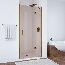 Душевая дверь Vegas-Glass AFP 0110 05 05 L профиль бронза стекло бронза