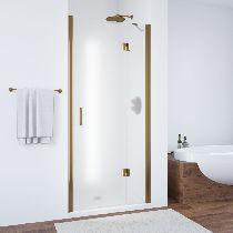 Душевая дверь Vegas-Glass AFP 0120 05 10 L профиль бронза стекло сатин
