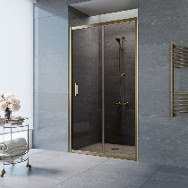 Душевая дверь Vegas-Glass ZP 0125 05 05 профиль бронза стекло бронза