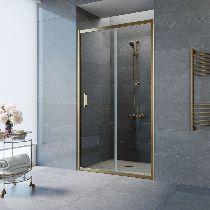 Душевая дверь Vegas-Glass ZP 0150 05 01 профиль бронза стекло прозрачное