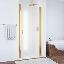 Душевая дверь Vegas-Glass EP 0065 09 10 профиль золото стекло сатин