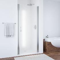 Душевая дверь Vegas-Glass EP 0075 08 10 профиль хром стекло сатин