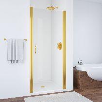 Душевая дверь Vegas-Glass EP 0085 09 01 профиль золото стекло прозрачное