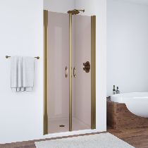Душевая дверь Vegas-Glass E2P 0070 05 05 профиль бронза стекло бронза