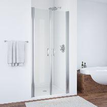 Душевая дверь Vegas-Glass E2P 0070 08 01 профиль хром стекло прозрачное