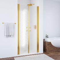 Душевая дверь Vegas-Glass E2P 0070 09 05 профиль золото стекло бронза