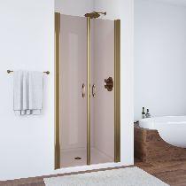 Душевая дверь Vegas-Glass E2P 0075 05 05 профиль бронза стекло бронза