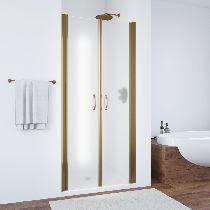 Душевая дверь Vegas-Glass E2P 0075 05 10 профиль бронза стекло сатин