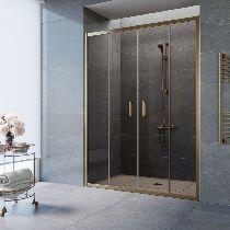 Душевая дверь Vegas-Glass Z2P 150 05 05 профиль бронза стекло бронза