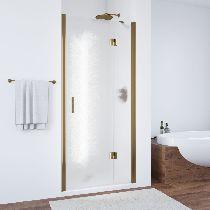 Душевая дверь Vegas-Glass AFP 0100 05 02 L профиль бронза стекло шиншилла