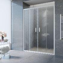 Душевая дверь Vegas-Glass Z2P 170 01 02 профиль белый стекло шиншилла