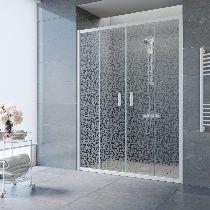 Душевая дверь Vegas-Glass Z2P 170 01 R03 профиль белый стекло фея