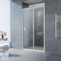 Душевая дверь Vegas-Glass ZP 0125 01 02 профиль белый стекло шиншилла