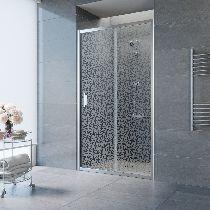 Душевая дверь Vegas-Glass ZP 0125 08 R03 профиль хром стекло фея
