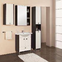 Зеркальный шкаф Акватон Крит 60 венге
