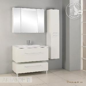 Зеркальный шкаф Акватон Мадрид 100 со Светильник Акватоном